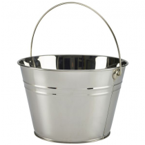 Stainless Steel Serving Bucket 25cm