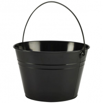 Stainless Steel Serving Bucket Black 25cm
