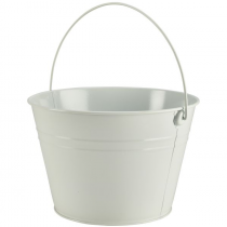 Stainless Steel Serving Bucket White 25cm
