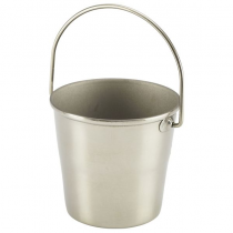 Stainless Steel Miniature Bucket 4.5cm