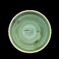 Churchill Stonecast Coupe Bowl Samphire Green 18.2cm