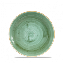 Churchill Stonecast Coupe Bowl Samphire Green 24.8cm