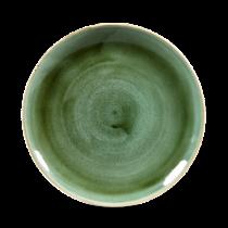 Churchill Stonecast Samphire Green Coupe Plate 21.7cm