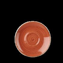 Churchill Stonecast Spiced Orange Saucer 15.6cm