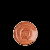 Churchill Stonecast Spiced Orange Espresso Saucer 11.8cm