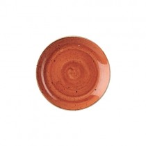 Churchill Stonecast Spiced Orange Coupe Plate 16.5cm
