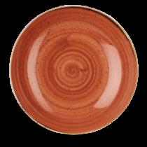 Churchill Stonecast Spiced Orange Coupe Bowl 31cm