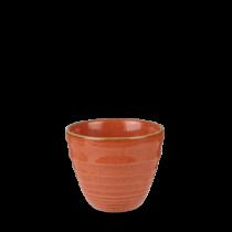 Churchill Stonecast Spiced Orange Ripple Chip Pot 10oz / 28cl