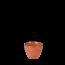 Churchill Stonecast Spiced Orange Ripple Dip Pot 2oz