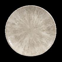 Churchill Studio Prints Stone Coupe Plate Agate Grey 26cm