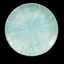 Churchill Studio Prints Stone Coupe Plate Aquamarine 26cm