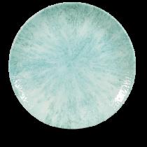 Churchill Studio Prints Stone Coupe Plate Aquamarine 28.8cm
