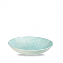 Churchill Studio Prints Stone Coupe Bowl Aquamarine 24.8cm