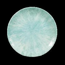 Churchill Studio Prints Stone Coupe Plate Aquamarine 21.7cm