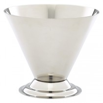 Stainless Steel Conical Sundae Cup 9.5oz / 27cl