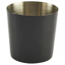 Stainless Steel Serving Cup Black 8.5cm