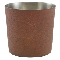 Rust Effect Serving Cup 8.5 x 8.5cm
