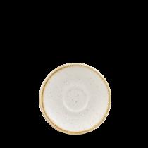 Churchill Stonecast Barley White Espresso Saucer 11.8cm
