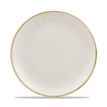 Churchill Stonecast Barley White Coupe Plate 26cm