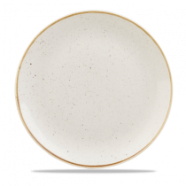 Churchill Stonecast Barley White Coupe Plate 28.8cm