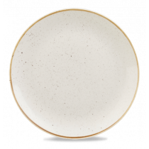 Churchill Stonecast Barley White Coupe Plate 32.4cm