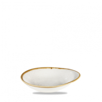 Churchill Stonecast Barley White Round Dish 16 x 14.5cm