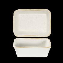 Churchill Stonecast Barley White Lasagne Dish 16 x 12 x 5cm