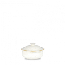 Churchill Stonecast Barley White Lidded Stew Pot 14cm
