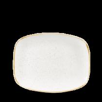 Churchill Stonecast Barley White Chefs Oblong Plate 26.1 x 20.2cm