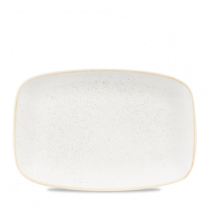 Churchill Stonecast Barley White Chefs Oblong Plate 30 x 19.9cm