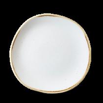Churchill Stonecast Barley White Organic Round Plate 21cm