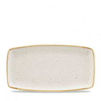 Churchill Stonecast Barley White Oblong Plate 29.5 x 15cm