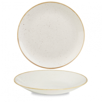 Churchill Stonecast Barley White Deep Coupe Plate 25.5cm