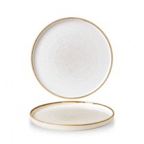 Churchill Stonecast Barley White Walled Chefs Plate 21cm
