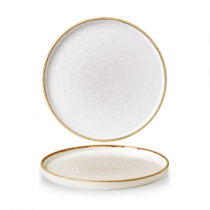 Churchill Stonecast Barley White Walled Chefs Plate 26cm