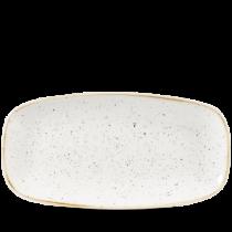 Churchill Stonecast Barley White Chefs Oblong Plate 29.8 x 15.3cm