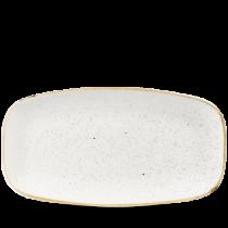 Churchill Stonecast Barley White Chefs Oblong Plate 35.5 x 18.9cm