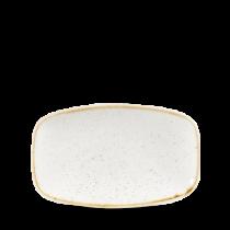 Churchill Stonecast Barley White Chefs Oblong Platter 35.5 x 24.5cm