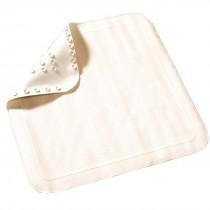 Rubber Shower Mat White 530 x 530mm