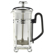 Economy Chrome Cafetiere 3 Cup 300ml