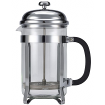 Chrome Cafetiere 12 Cup 1.5ltr