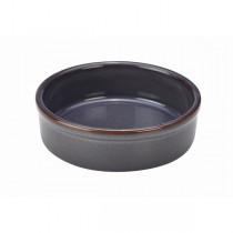 Terra Stoneware Tapas Dish Rustic Blue 14.5cm