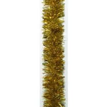 Gold Tinsel Garland 6m