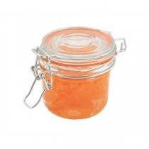 Genware Glass Terrine Jar with Airtight Lid 200ml