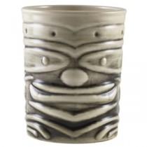 White Tiki Mugs 12.75oz 36cl