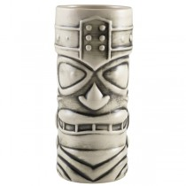 White Tiki Mugs 14oz / 40cl