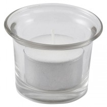 Glass Tealight Holder 5 x 5cm