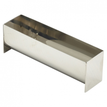 Stainless Steel Terrine Mould U Shaped 135 x 35 x 45mm