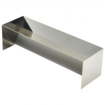 Stainless Steel Terrine Mould V Shaped 500 x 100 x 90mm
