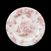 Churchill Vintage Prints Cranberry Toile Plate 21cm
